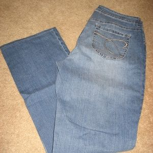 Womens CHICO'S Straight Stretch Jeans ( 1 ) 8